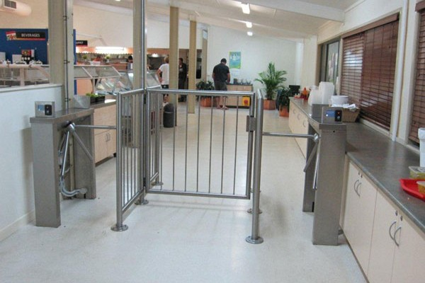 Check Inn Systems Turnstiles with Access Control