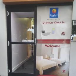 Key Safe Comfort Inn