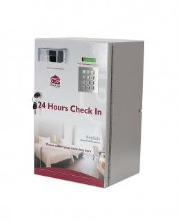 24 hour check in Keysafe 32R Key Dispenser for 32 Keys with Built In Key Return