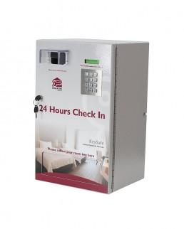 24 hour check in Keysafe 32R Key Dispenser for 32 Keys with Built In Key Return