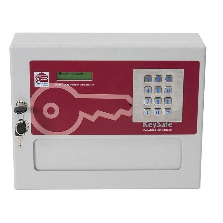 Check Inn Systems Key Safe 8 Dispenses keys or room Cards