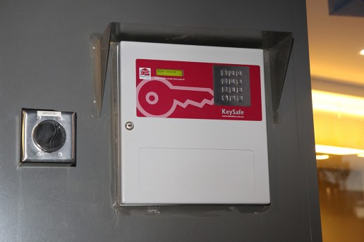 Check In Key safe key dispense system 8 Keys Quest Serviced Apartments