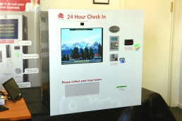 Touch Screen Kiosk with Cash Acceptor & credit card eftpos