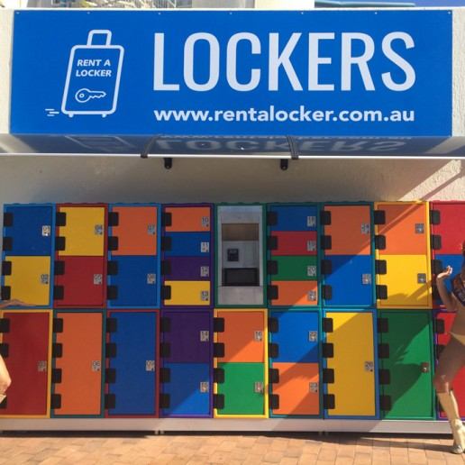 Rent A Locker Surfers Paradise