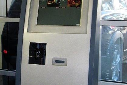 Check Inn Hotel Kiosk with Twin Screens