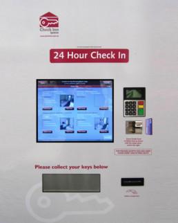 Check Inn System Motel Kiosk